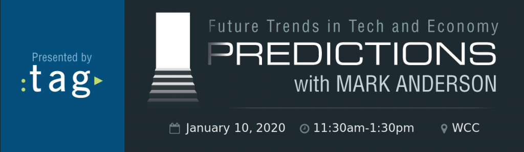 TAG Predictions 2020
